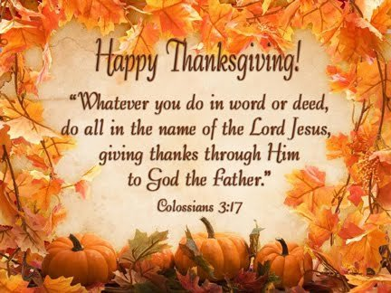 Happy Thanksgiving Blessings Photos