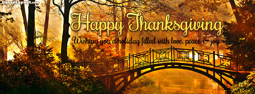 Happy Thanksgiving Facebook Cover Images