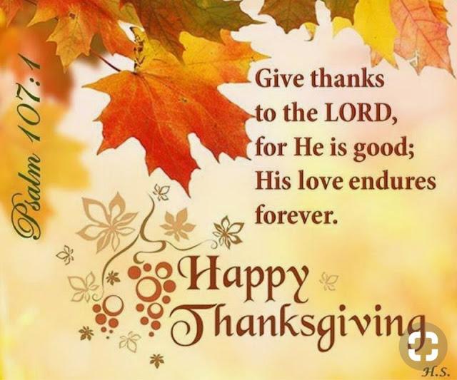 Thanksgiving Blessings Wallpaper