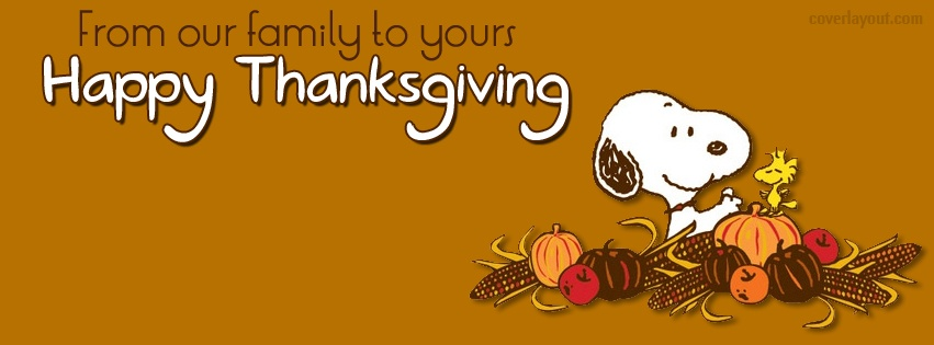 Thanksgiving Facebook Cover Photos