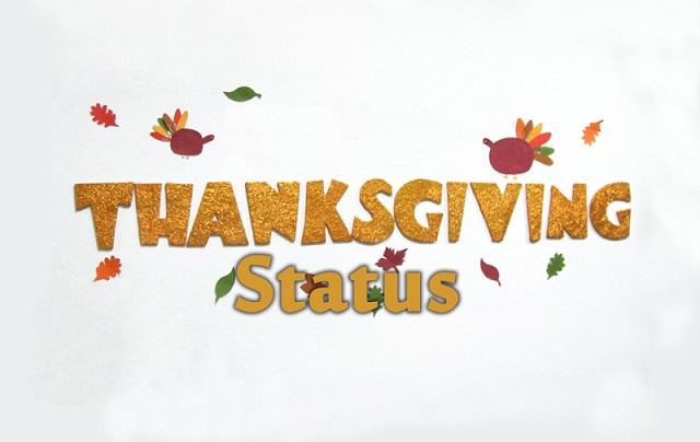 Thanksgiving Status For Whatsapp Facebook Messages Short