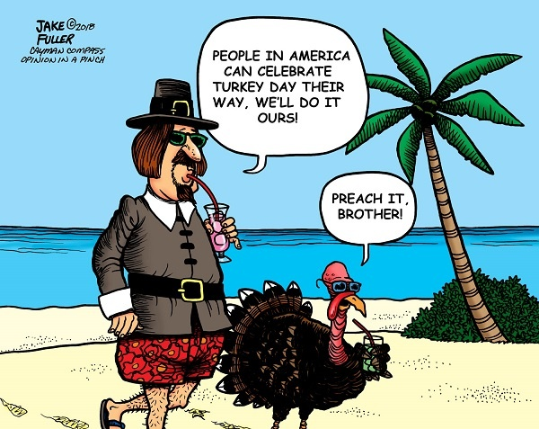 Thanksgiving Turkey Day Cartoon Images