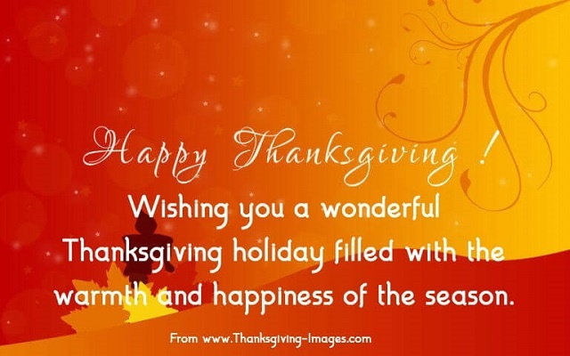 Thanksgiving 2019 Wishes