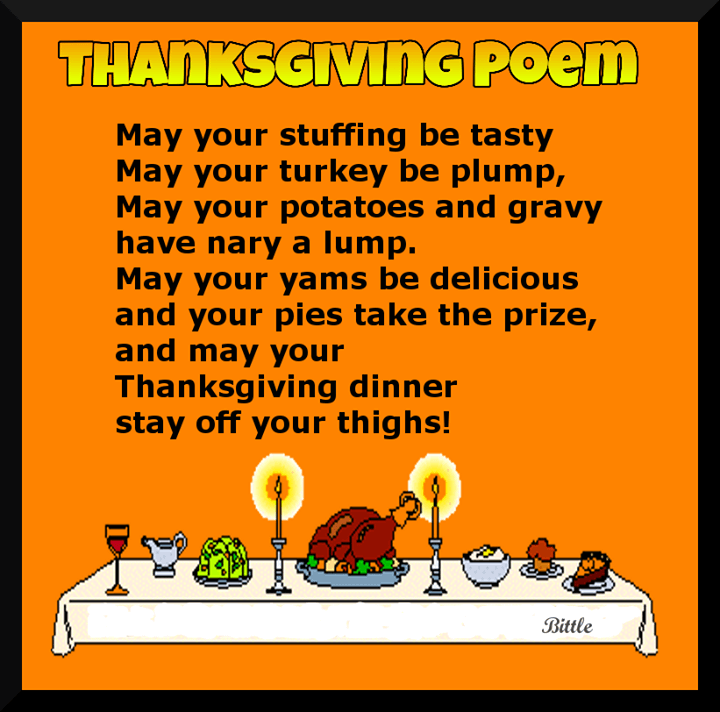 Thanksgiving Poems To God