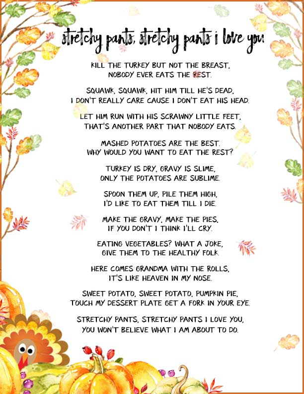 inspirational thanksgiving poems for teachers