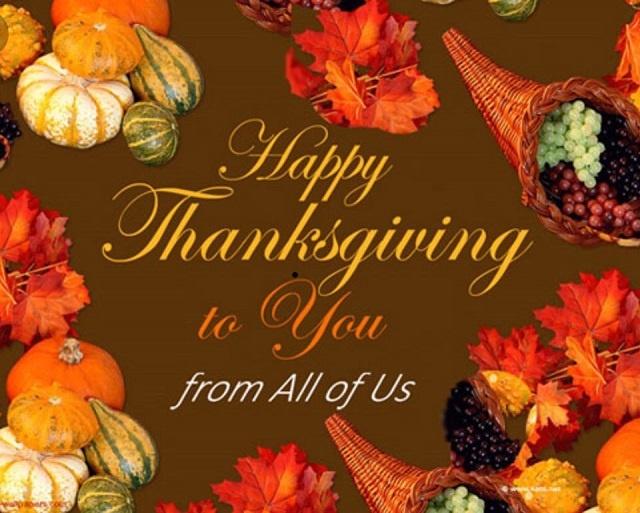 Beautiful Happy Thanksgiving Wallpaper