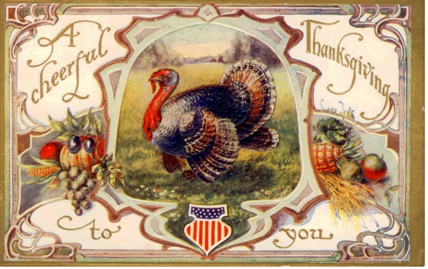 Beautiful Vintage Thanksgiving Pictures