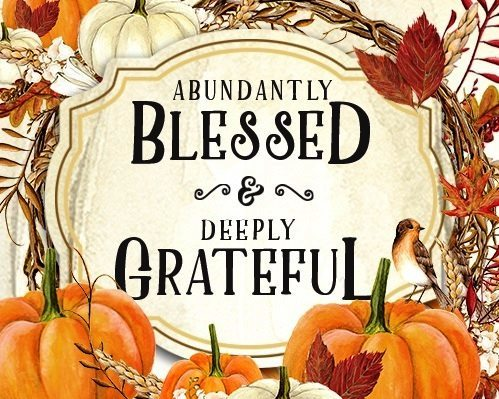 Blessed and Grateful Thanksgiving Images