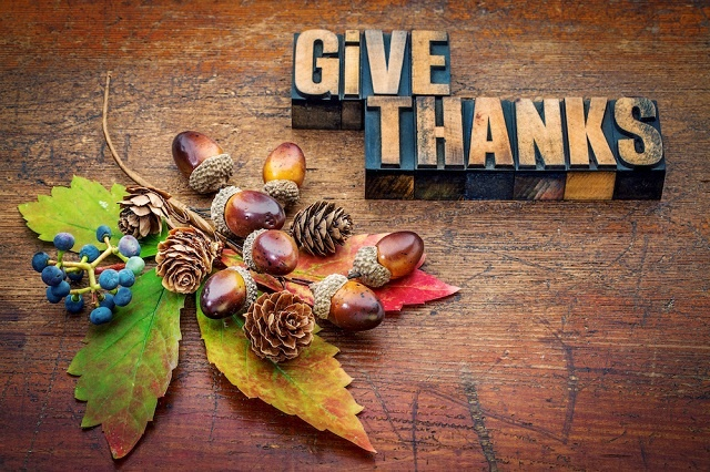 Grateful Images for Thanksgiving
