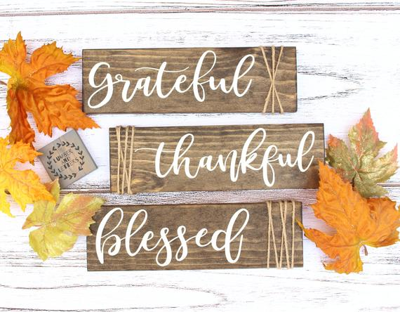 Grateful Thanksgiving Photos