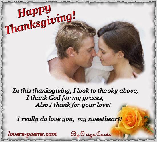 Happy Thanksgiving I Love You Images