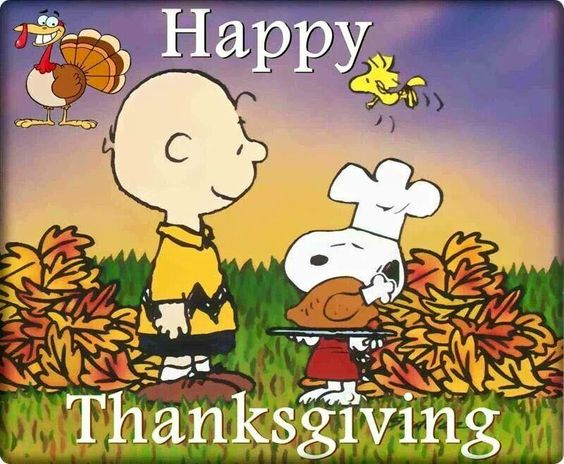 Happy Thanksgiving Snoopy Images