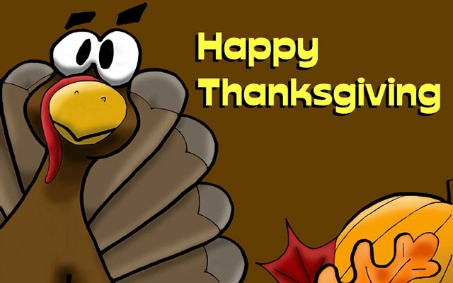 Hilarious Happy Thanksgiving Wallpaper