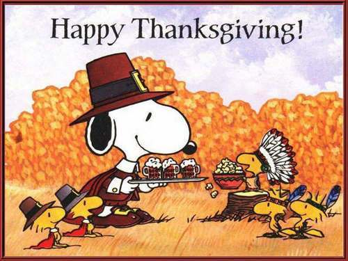 Snoopy Thanksgiving Images