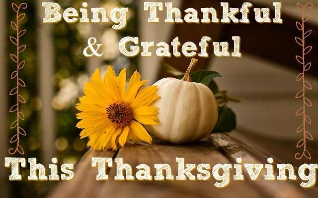 Thanksgiving Grateful Pictures