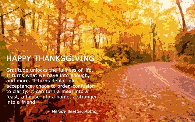 Thanksgiving Gratitude with Photos