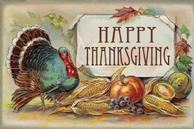 Vintage Grateful Thanksgiving Images